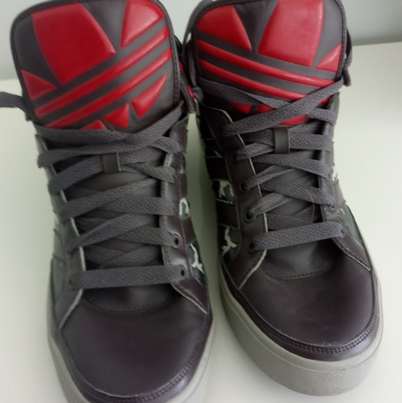 adidas Other - Adidas Top Court Hi Camo a08ad6e48
